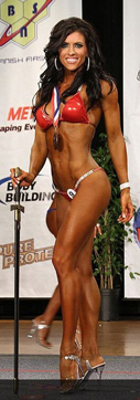 Amanda Latona, first place Bikini March 2011