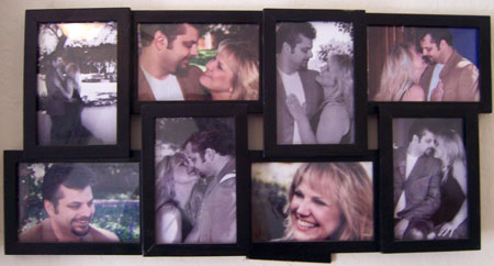Bill and Chelle photo collage (yes,this was pre-weight loss!)