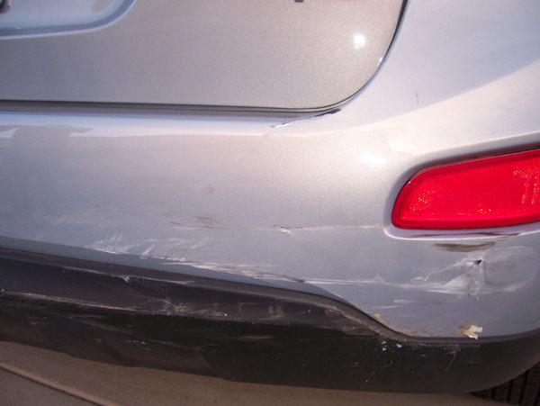 My car mash :-(