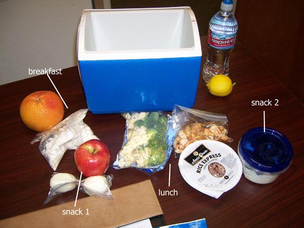 Chelle's cooler - 1250 calories