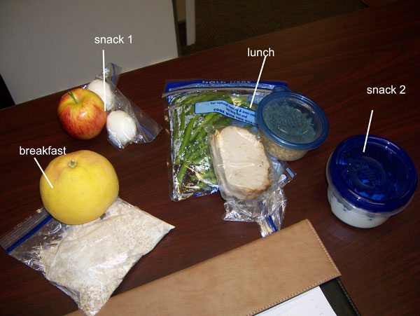 Chelle's clean eating cooler - 1300 calories, Tuesday, Feb 15, 2011