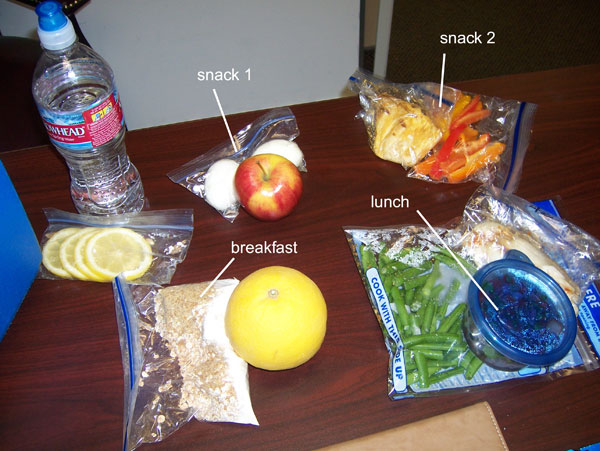 Chelle's clean eating cooler Tuesday Feb 22. 1400 calories