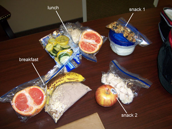 Chelle's clean eats for Thursday, March 10, 2011