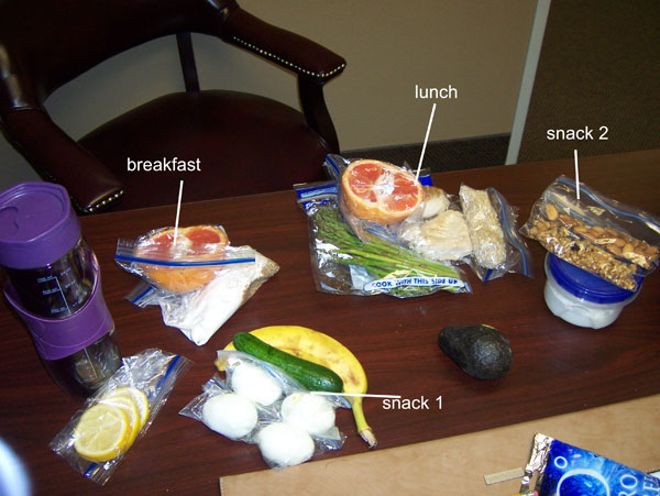 Chelle's Eat Clean Cooler, Tuesday, March 22, 2011