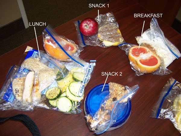 Chelle's clean eating cooler! Monday, Mar 28, 2011