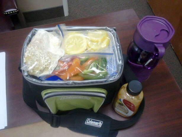 Chelle's clean eating competition diet cooler