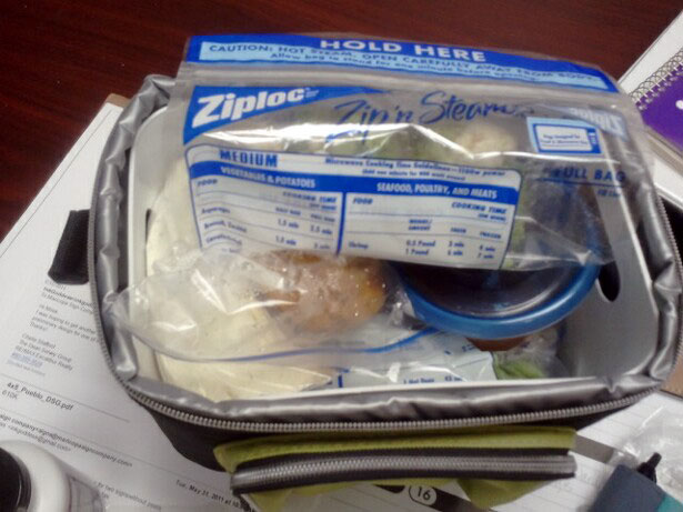 Clean Eating Cooler - 1400 calories, figure competition diet