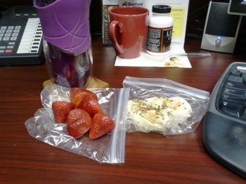 Figure competition diet - snack