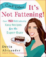 Devin Alexander Healthy Cookbooks