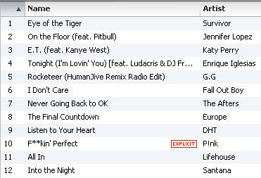 Arnold Prep- Cardio playlist