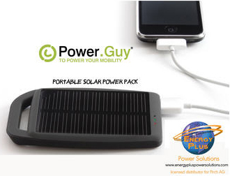 POWER.GUY Solar Charger for Electronic Devices. Support Our Troops! Donate a solar charger to a soldier today!