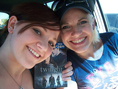 Shiloh and Mom, with out copy of the Twilight DVD.